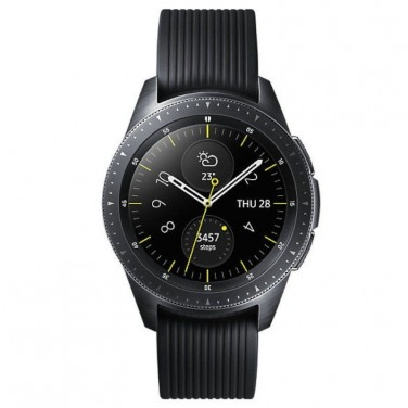 Reloj inteligente samsung galaxy watch s4 black 42mm - pantalla súper amoled 3.02cm -...