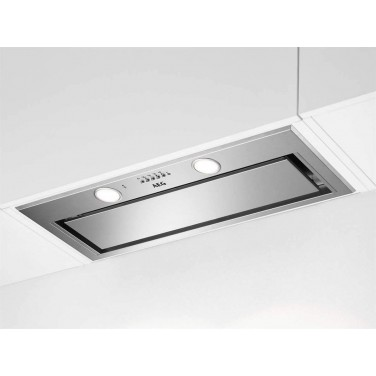 Campana Integrada AEG DGE5861HM Acero Inoxidable