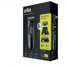 Afeitadora Braun 3 en 1 3000BT Serie 3