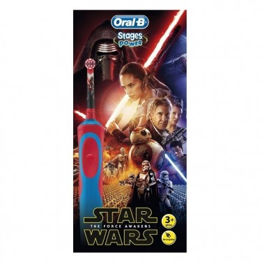 Cepillo Dental Braun Star Wars Oral-B D12 Vitality + Estuche