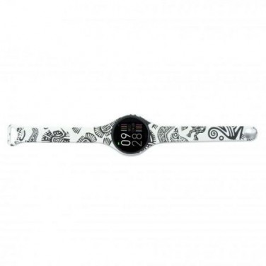 RELOJ INTELIGENTE INNJOO VOOM MINI BLACK WHITE