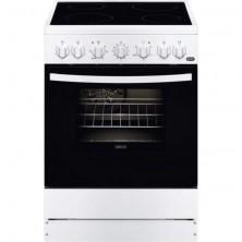 Cocina Libre Instalación ZANUSSI ZCV65201WA Vitroceramica 4 Zonas Horno+Grill Blanca