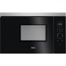 Microondas Integrable AEG MBB1756DEM 17 L Grill Negro Inox