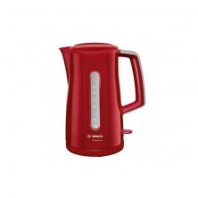 Hervidor BOSCH TWK3A014 compactlass Rojo 2400 W 1.7 l de Capacidad Filtro Antical...