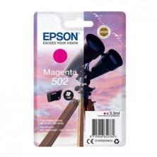 CARTUCHO TINTA MAGENTA EPSON 502 - 3.3ML - BINOCULARES