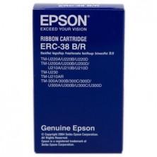 CINTA NYLON EPSON ERC-38 BLACK/RED
