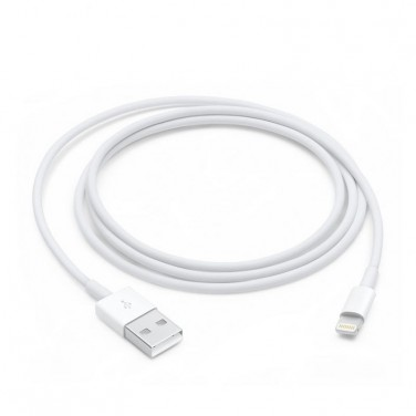 CABLE APPLE CONECTOR LIGHTNING A USB 1 M