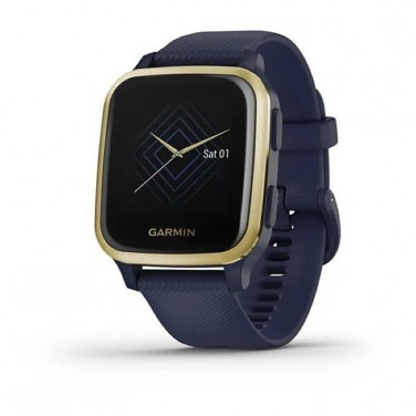 RELOJ DEPORTIVO CON GPS GARMIN VENU SQ MUSIC EDITION LIGHT GOLD