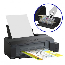 Impresora A3+ Recargable Epson Ecotank ET-14000/ Negra