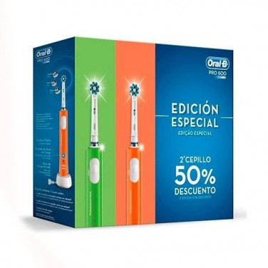 CEP. DENTAL ELECTRICO BRAUN ORAL B PRO600 EV P X2
