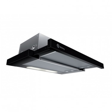 Campana Balay 3BT263MN - 60 cm, 360 m3/h, D, Negra, Ctrl. Mecánico, ilum. LEDs.