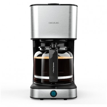 Cafetera de Goteo Cecotec Coffee 66 Heat 12 Tazas Negra