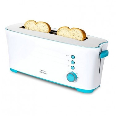 Tostador Cecotec Toast and Taste 1L 1000W Blanco