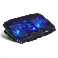 "Spirit of Gamer Airblade 600 almohadilla fría 43,2 cm (17"") 1500 RPM Negro, Azul"