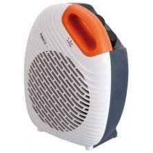 JATA TV64 calefactor eléctrico Gris, Naranja, Blanco 2000 W Ventilador eléctrico