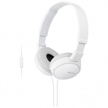Auriculares con Cable SONY MDRZX110APW.CE7 Blanco